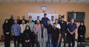 كلية اللغات في جامعة الكوفة تستضيف الاجتماع الأول لأقسام النشاطات الطلابية في كليات الجامعة للعام الدراسي الجديد