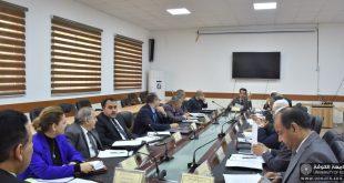 عميد كلية اللغات يشارك في الاجتماع الأول لعمداء كليات اللغات في الجامعات العراقية