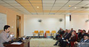 قسم اللغة التركية في كلية اللغات يقيم حلقة نقاشية بعنوان (آلية التقديم على المنحة التركية الحكومية )